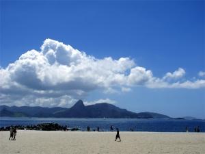 Paisagem Natural/Nuvens na Praia do Flamengo