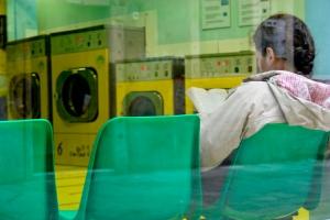 Gentes e Locais/Student's laundry time