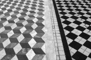 Abstrato/Preto no branco....
