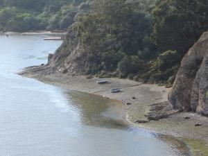 Paisagem Natural/Barcos no rio Mira I