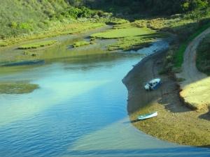 Paisagem Urbana/Barcos no Rio Mira II