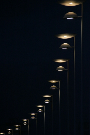 /Luzes na noite