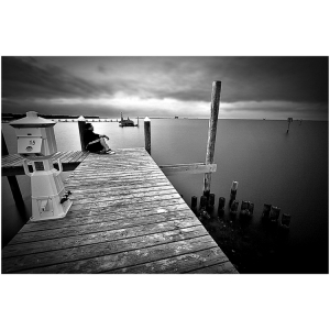 /- at the pier -