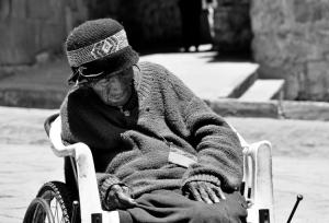 /Na rua de Cusco