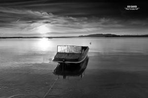 /... o barco com ares de pato ...