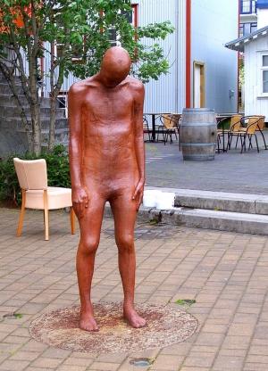 Gentes e Locais/Estátua Homem Reykjavik