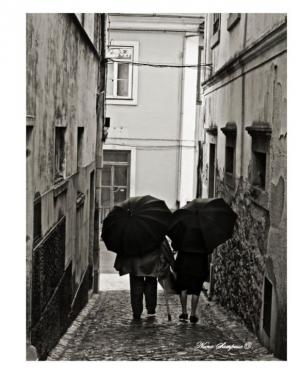 Fotojornalismo/-Lado a lado nos trilhos da vida...-