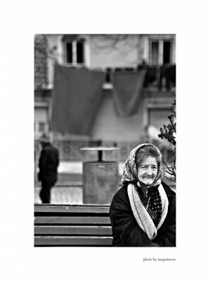 Retratos/enquanto os lençóis secam