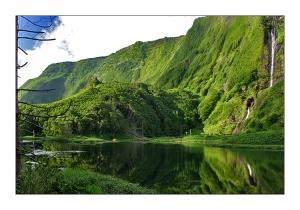 Paisagem Natural/Lagoa das Patas - Ilha das Flores, Açores