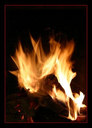 Abstrato/fogo