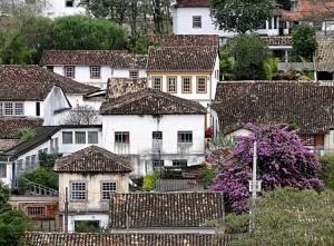 Paisagem Urbana/Casario cidade de Tiradentes-MG