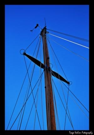 Abstrato/mastro de veleiro