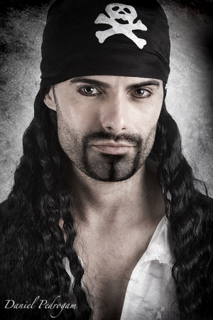 Retratos/pirata de terra firme