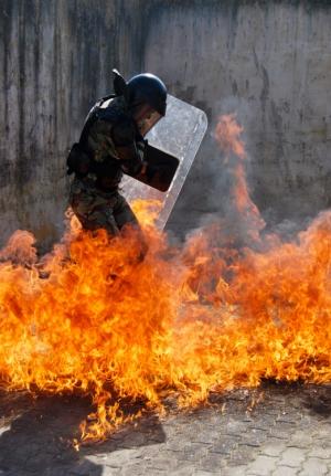 Fotojornalismo/Fire's Attack !