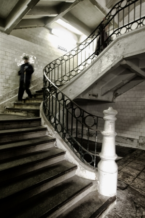 Gentes e Locais/staircase of the senses