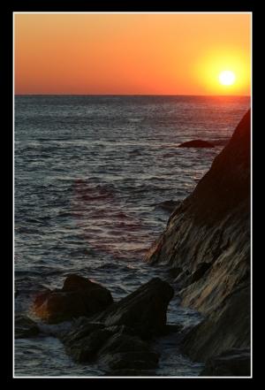 Paisagem Natural/quase no horizonte