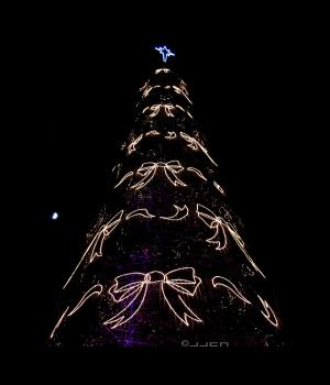 /A lua como prenda de Natal...