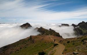 Paisagem Natural/Caminhando por entre as nuvens