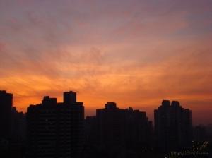Paisagem Urbana/Quase noite de Outono na cidade...