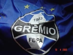 Desporto e Ação/Bandeira do Grêmio - Futebol - Porto Alegre