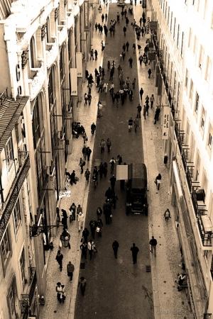Paisagem Urbana/Rua do Carmo