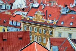 Paisagem Urbana/Telhados - Praga