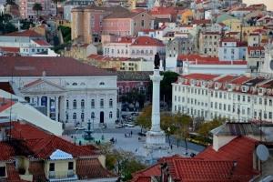 Paisagem Urbana/Rossio - Lisboa