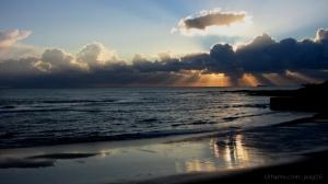Paisagem Natural/Final de dia na praia