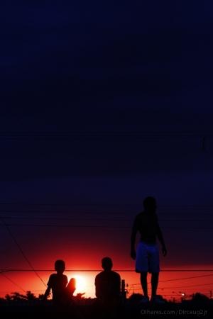 Gentes e Locais/Pôr do sol