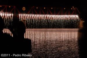 Abstrato/Chuva Luminosa