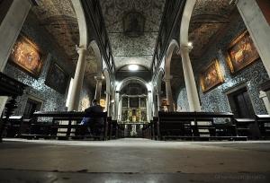 /Apenas uma igreja em Óbidos.