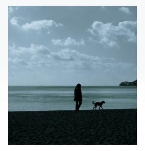 """/O cão e a sua dona..."""""""