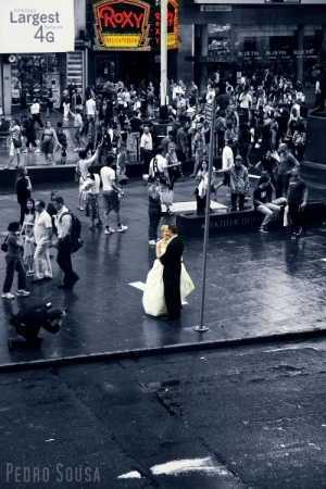 /casar em times  square!