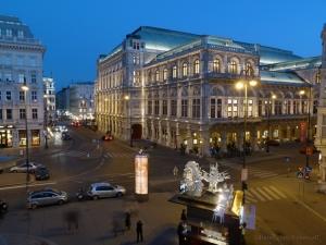 Paisagem Urbana/Viena à noite