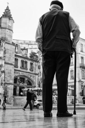 /O guardião da praça....