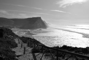 Paisagem Natural/As ondas desenrolam os seus braços