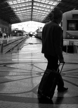/O  homem que via os comboios
