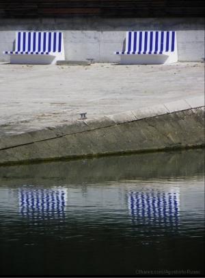 """Paisagem Urbana/""""Espelho Azul"""""""