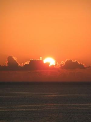 /A queda do sol