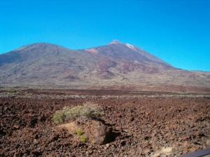 /the Teide Volcano(tenerife)