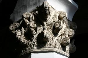 /pormenor sinagoga de Toledo