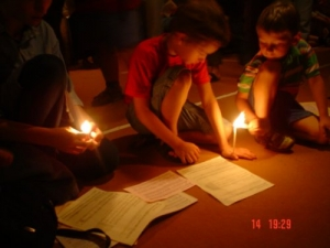 /Oração da luz...