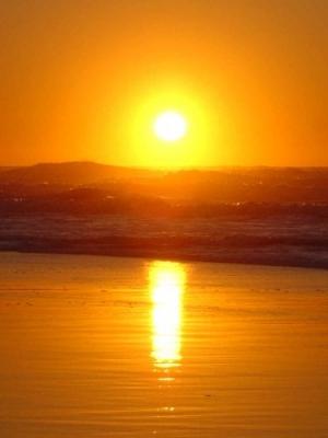 /Pôr do Sol em Aveiro