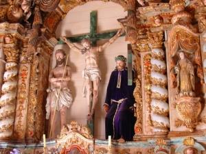 /imagem na igreja do castelo de marialva