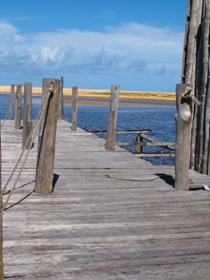 Paisagem Natural/Pier abandonado