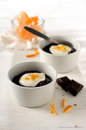 /Tacinhas de Chocolate com Laranja