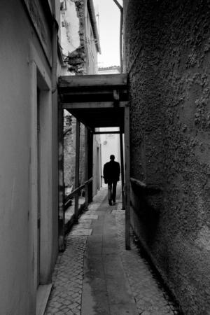 Paisagem Urbana/caminhante