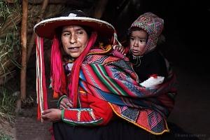 Gentes e Locais/India Peruana com seu Filho