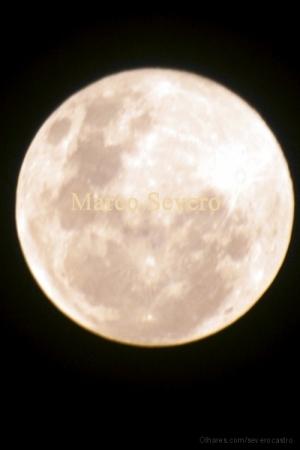 Paisagem Natural/Lua em LImeira no dia 10 de novemmbro
