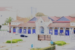 Paisagem Urbana/mercado  de Santarém